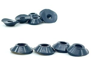 Curved Plastic Washers